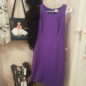 J Crew Purple Dress sz 2